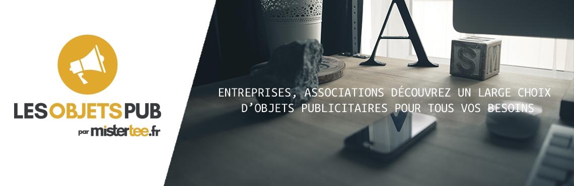 Entreprises, associations, découvrez un large choix d'objets publicitaires pour tous vos besoins
