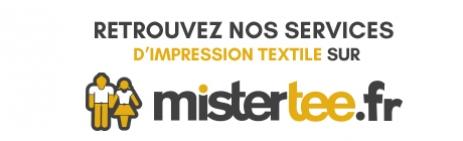 Mister Tee imprimeur et personnalisation textile